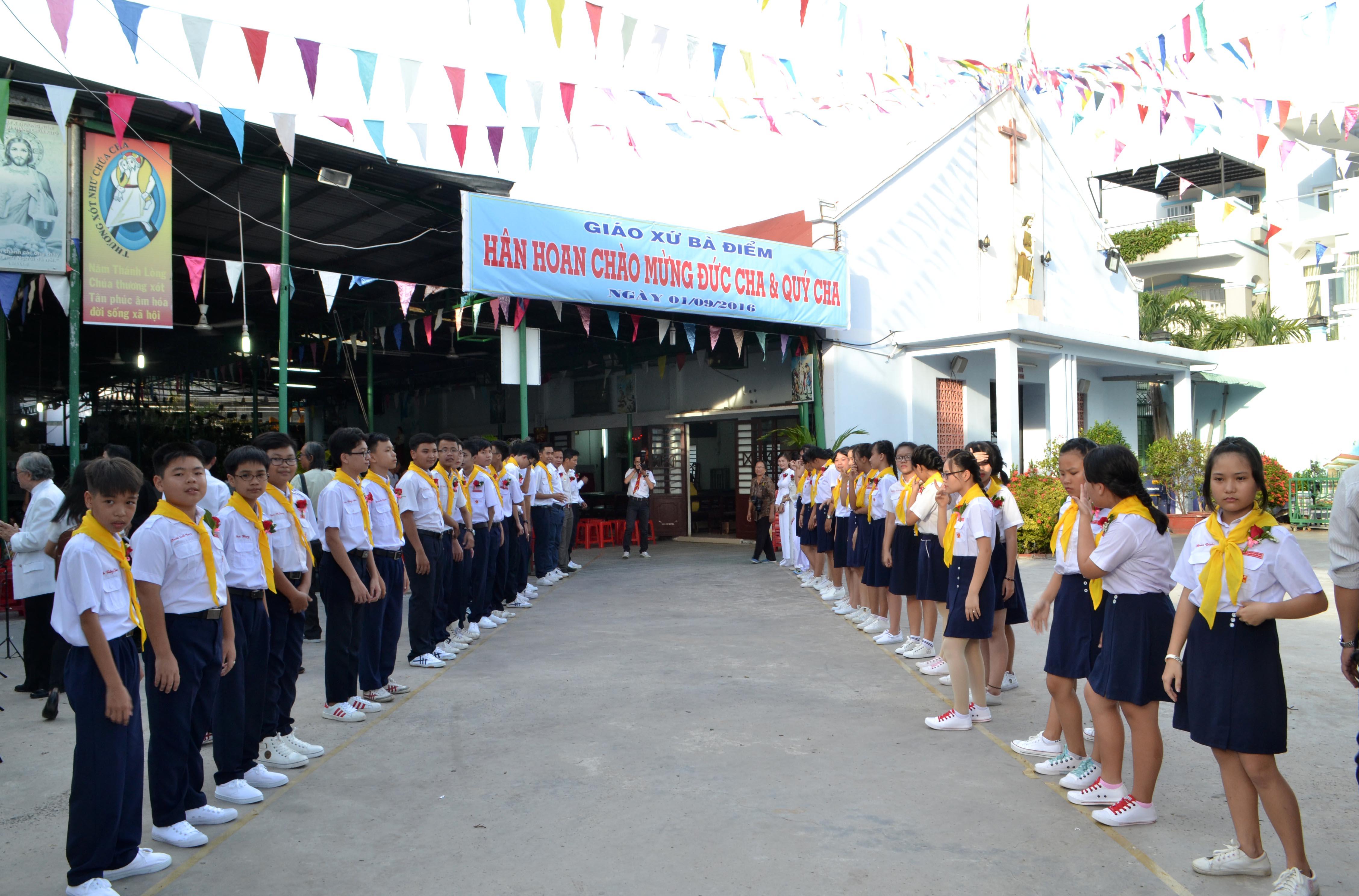 Cháo đón Đức TGM Phalo 01-09-2016
