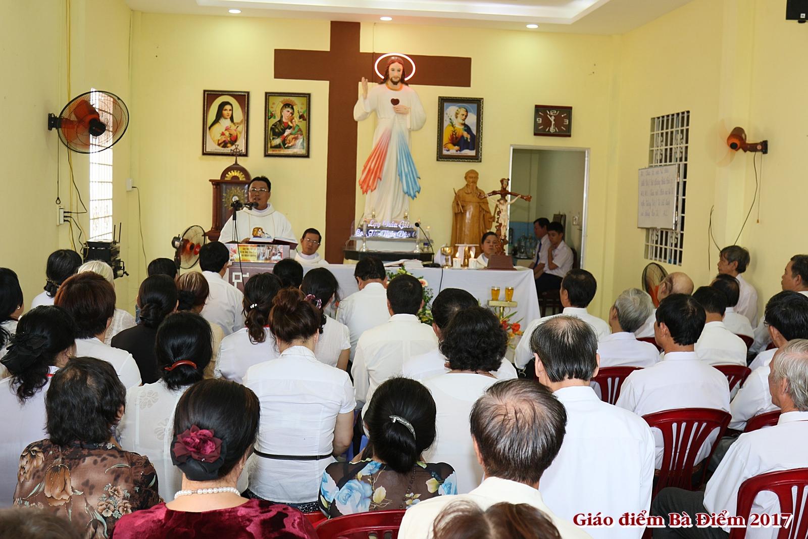 GĐPTTTCG Giáo phận Sài Gòn: Thăm điểm truyền giáo tại giáo khu Têrêsa